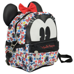 New Walt Disney Minnie Mouse 2 in 1 Travel Cross-body bag Mini Backpack