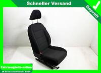 VW Golf 6 VI 5K Sitz Fahrersitz vorn links Stoff schwarz anthrazit FW