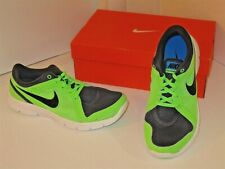 pretty nice 940ae f5587 Nike Flex Experience RN 2 Running Green Anthracite Mesh Sneakers Shoes Mens  9.5