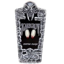 NEW Scarecrow Blood Tipped Werewolf / Vampire Fangs / Teeth - Halloween Dress Up