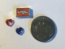 Denver Broncos Superbowl Football Nfl Fits Origami Owl Locket Charm