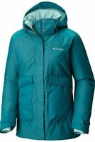 Columbia Women's Blue Alpensia Action Omni Heat Insulated Jacket (Retail $185)