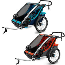 Thule Chariot Cross 2 Bicycle Trailer Bike Coupler Two-Seater Children New
