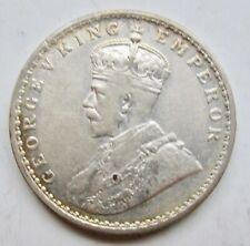"British India 1911 Rupee George VI Calcutta Mint ""Pig"" Rupee 1-Year Variety"