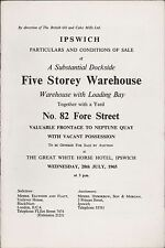 Ipswich. 82 Fore Street. Warehouse. 1965. Sale. RD 5