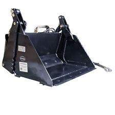 """Titan 35"""" 4-In-1 Combo Mini Skid Steer Bucket w/ Cutting Edge"""