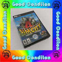SimCity 4 Deluxe Edition for Windows PC - Good Condition Sim City