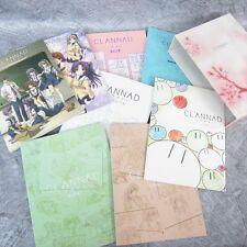 CLANNAD Complete Art Book Set Ltd KEY Anime Book *