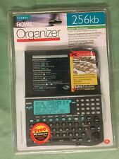 Royal DS2260 Organizer 256kb PC Compatible Expense Managing Reporting NEW SEALED