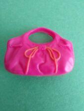 My Scene Barbie Bratz Doll Dark Pink & Orange Purse Handbag