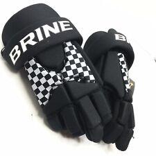 "Brine LoPro Prodigy Junior Lacrosse Gloves - Size: 8"" - Black - (S-Gllpgjbk08)"