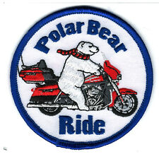 Polar Bear Ride - Red Ultra Patch