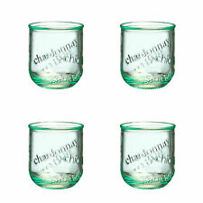 Amici Home Vino Stemless WineRecycled Glass Drinkware, Set of 6 Glasses