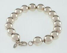 Tiffany & Co. Sterling Silver Bead Bracelet Great Condition Retail