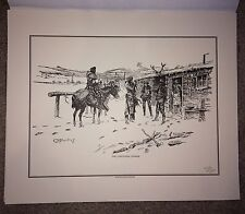 Charles M. Russell set 11 Limited Edition Pen and Ink Sketch Prints Western Art