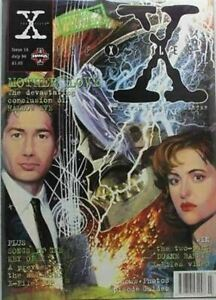 THE X FILES MAGAZINE - ISSUE 14  JULY  1996 - COM-782