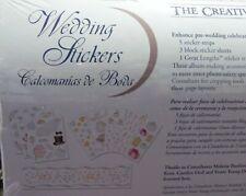 RARE CREATIVE MEMORIES WEDDING STICKERS BNIP