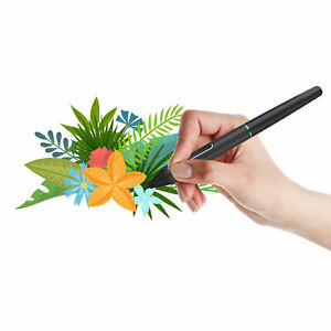 Battery Drawing Stylus Pen P55C with USB for UGEE UG1910B/UG2150 Graphic Tablets