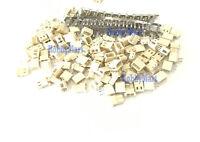 5264 2.5mm Micro 2-Pin Male, Female Connector plug & Crimps x 50 sets