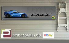Lotus S1 Exige Banner for Workshop, Garage, Pit Lane, Man Cave, Track