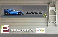 Lotus S1 Exige Banner for Workshop, Garage, Pit Lane, Man Cave, Track