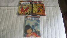 Lot de 3 BD YOKO TSUNO - Tomes 1,4 et 5 - couvertures souples - NEUFS