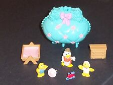"""VTG 1996 Kenner LPS, Mini Surprise Families """"Purse"""",  Chicks, Polly Pocket Type"""