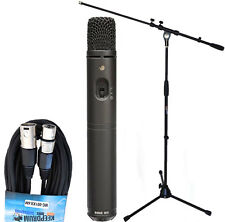 Rode M3 Kondensatormikrofon + Keepdrum Mikrofon-Stativ / Kabel