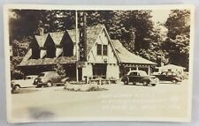 1947 RPPC Real Photo Postcard Winfield's Restaurant US Route 20 Mentor Ohio