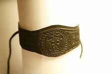 Leather Bracelet  Let God arise and his enemies will be gone