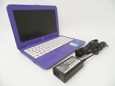 """HP Stream 11-y020wm 11.6"""" HD Celeron N3060 1.6GHz 4GB 32GB W10H Laptop X7V32UA U"""