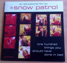 "Snow Patrol - One Hundred Things To Done In Bed  7"" Vinyl"