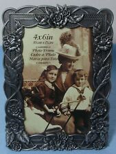 Decorative 4x6 Picture Frame – Metal