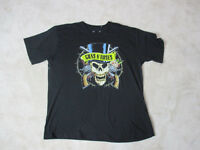 Guns N Roses Concert Shirt Adult Extra Large Black Band Tour Rock Music Men