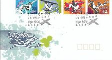 2006 Extreme Sports FDC - Gummed