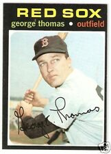 1971 Topps Hi Number #678 George Thomas Red Sox EXNM