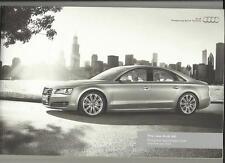 AUDI A8 ILLUSTRATED PRICES, SPECIFICATION PRESTIGE SALES BROCHURE APRIL 2010