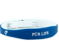 Authentic Pur life Negative Ion Bracelet EXCEL Sport Blue & White Purlife