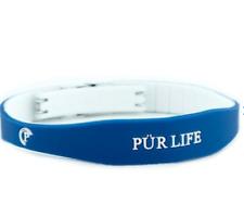 Authentic Pur life Negative Ion Bracelet EXCEL Sport Blue & White Purlife