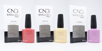 CND Sweet Escape Collection Summer 2019 Shellac Gel Nail Polish Set of 3