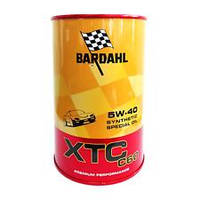 Olio motore auto Bardahl XTC C60 5W40 ACEA A3-B4 - 2 Litri