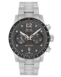 MIDO MULTIFORT CHRONOGRAPH AUTOMATIC MEN'S WATCH M025.627.11.061.00 MSRP: $2,090