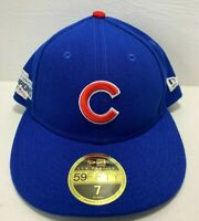 Chicago Cubs New Era 2016 World Series On-Field 59FIFTY Fitted Hat Size 7
