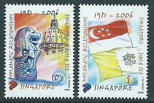2006 SINGAPORE CONGIUNTA VATICANO MNH ** - ED