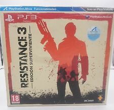 RESISTANCE 3 EDICION SUPERVIVIENTE SONY PLAYSTATION 3 PS3 ESPAÑA.SEALED NUEVO