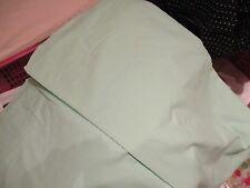 Drap housse polyester et coton vert pâle  special  pour lit en 100 x 190  cm N°1