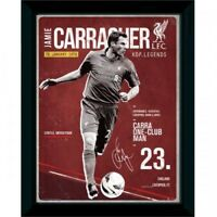 16 x 12' Liverpool Carragher Retro Framed Photograph - Fc Picture 12