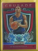 PJ Washington Jr RC 2019-20 Prizm Draft Crusade PRIZMS RED Rookie Card Hornets