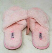 New Millffy Pink Fluffy Slippers Women's Size 9-10