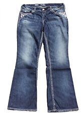 SALE NWT $108 Silver Jeans Plus Suki Midrise Bootcut Denim Jeans 24 x 30